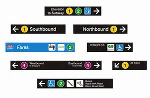 Ttc Unveils New System Map And Wayfinding Signage