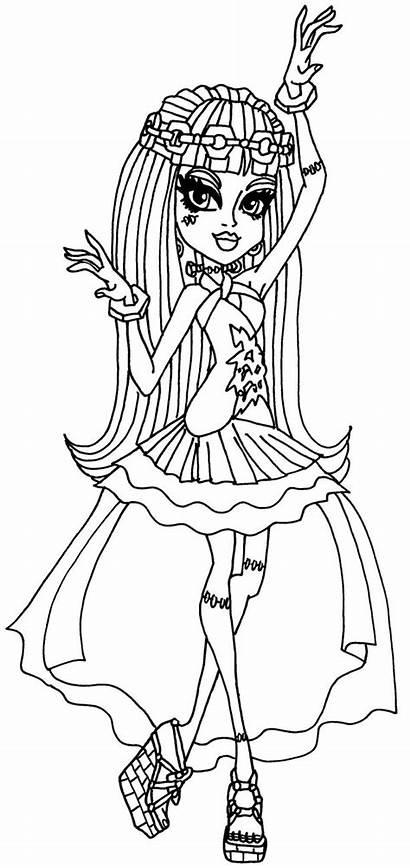 Monster Frankie Wishes Deviantart Coloring Elfkena Meilleur
