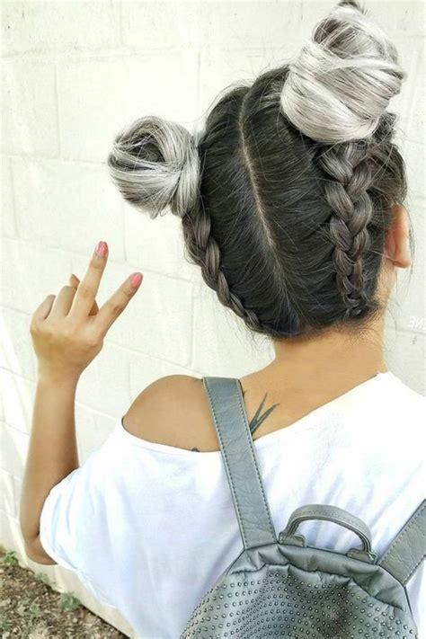 faire une virée à deux 1001 id 233 es de coiffure avec une tresse coll 233 e les 233 pour la r 233 alisation coiffures
