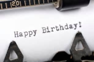 Happy Birthday Typewriter