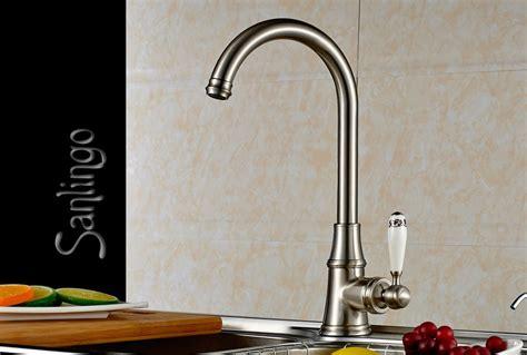 robinet retro cuisine lavabo cuisine mitigeur robinet poignée céramique aspect