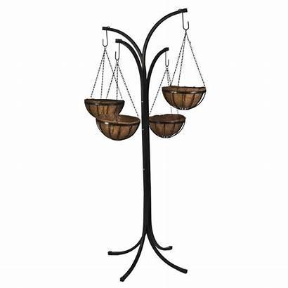 Hanging Tree Stand Plant Baskets Basket Planter