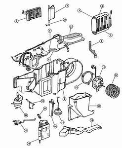 1997 Dodge Dakota Motor  Heater Blower  Air  Conditioning