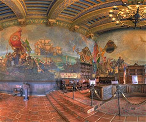 santa barbara courthouse mural room santa barbara courthouse mural room by bill heller