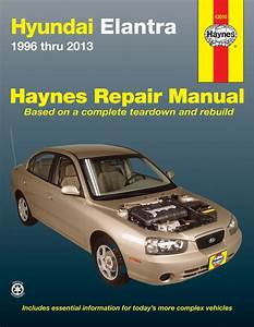 Hyundai Elantra Haynes Repair Manual  1996-2013