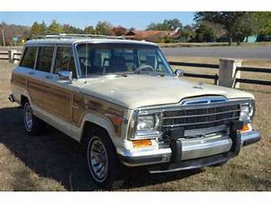 1987 Jeep Grand Wagoneer For Sale