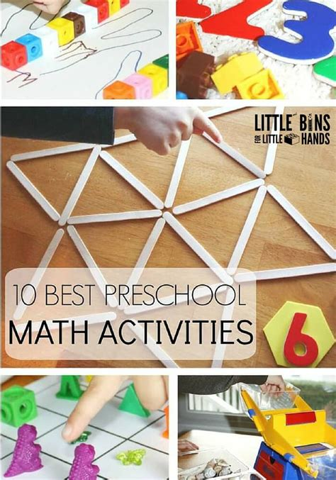 preschool math activities for back to school early learning 521 | 10 Best Preschool Math Activities