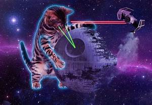 Wallpaper Astronaut Cat with Laser (page 2) - Pics about space
