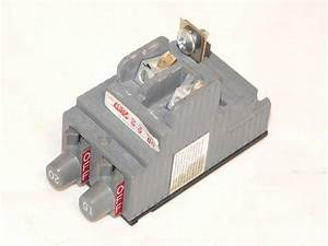 New Ite Pushmatic Replacement Breaker Twin 15a
