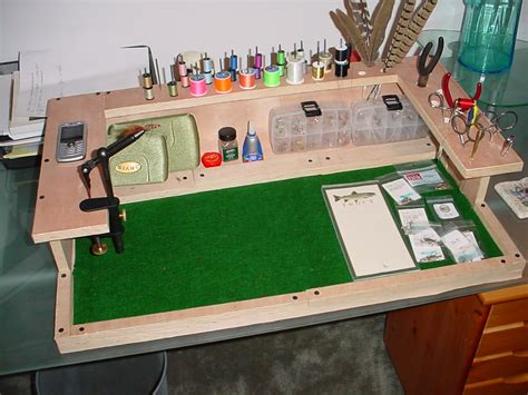 fly tying station homemade google search fly tying