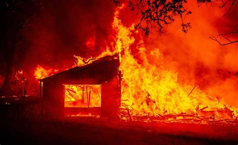 Glass Fire burns wineries and resorts in Napa, Sonoma ...