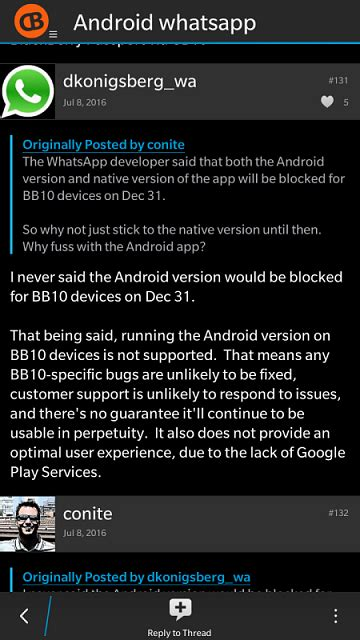 no whatsapp android fixer waa fixer in beta zone page 2 blackberry forums at crackberry