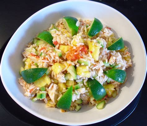 cuisine salade de riz salade de riz au poulet la recette facile par toqués 2