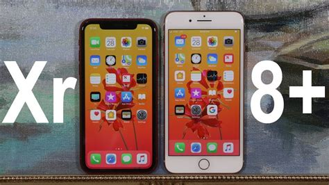 iphone xr vs iphone 8 plus comparison