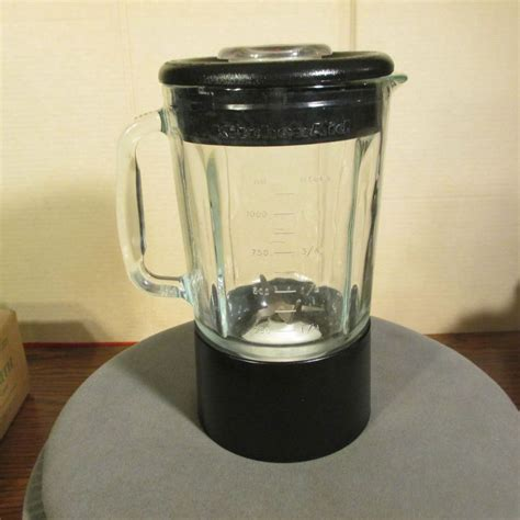 Kitchenaid Blender Parts Ksb50b3 by Kitchenaid Blender Replacement Glass Jar Black Ksb5ob4