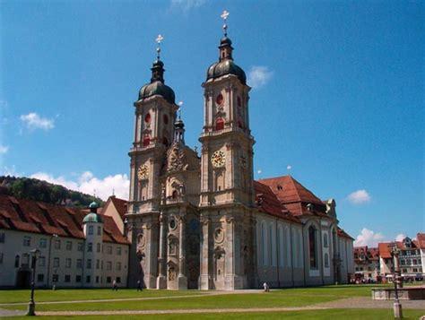 traveling  switzerland abbey  st gall benedictine