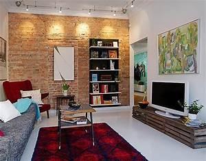 Coole Lampen Wohnzimmer : coole wandgestaltung f rs wohnzimmer ~ Sanjose-hotels-ca.com Haus und Dekorationen