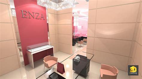 bureau commercial designer boutique magasins enza