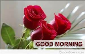 Good Morning Messages with Roses
