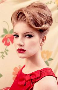 Wedding Updos Inspired By The 50s 60s