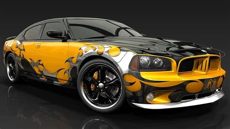 Dodge Charger Full Hd Wallpaper And Background Image