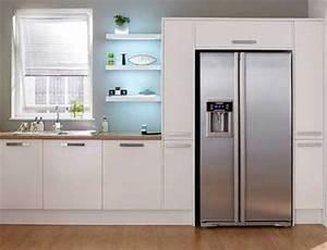 Frigo Americain Avec Glacon : frigo americain dans cuisine equipee les 25 meilleures ~ Premium-room.com Idées de Décoration