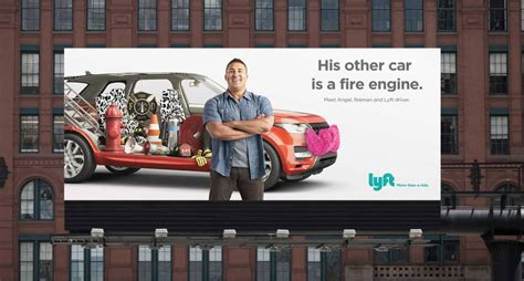 Finally There's A Great Lyft Billboard Campaign