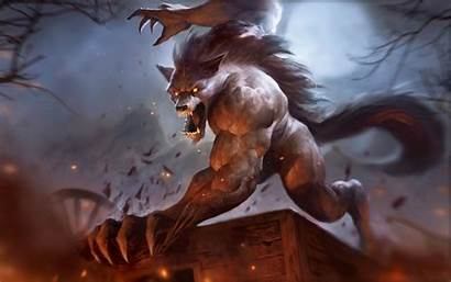 Scary Beast Very Wallpapers Fantasy Horror Magic