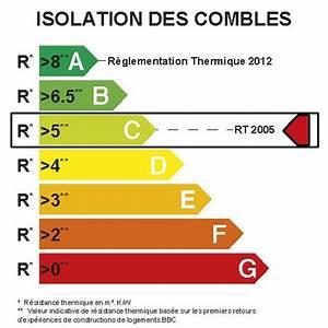 Resistance Thermique Isolant : laine de roche roulrock kraft rockwool 2 4 x 1 2 m ep ~ Melissatoandfro.com Idées de Décoration
