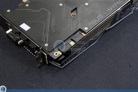 gtx 1080 single fan asus gtx 1080 strix review up close gpu displays