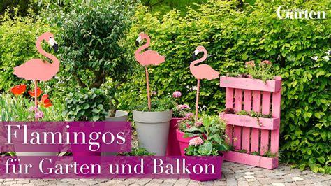 diy deko garten bastelanleitung deko flamingos f 252 r garten und balkon diy