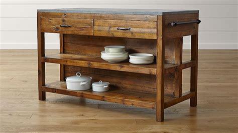 reclaimed wood kitchen islands bluestone reclaimed wood large kitchen island crate and