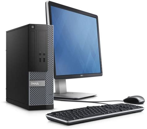 dell ordinateur bureau ordinateur de bureau dell optiplex 3020 sff ecran dell