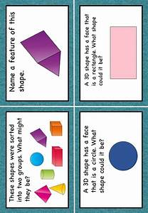 3d Shapes Task Cards Hots Bloom U0026 39 S Taxonomy Grades 1  2 And