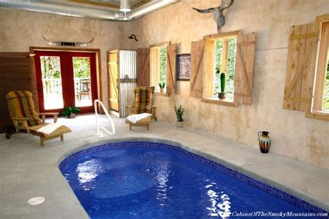 smoky mountain cabins with indoor pools gatlinburg cabins with indoor swimming pools