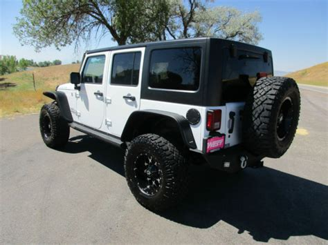 modified 4 door jeep wrangler custom 2016 jeep wrangler unlimited rubicon automatic lift
