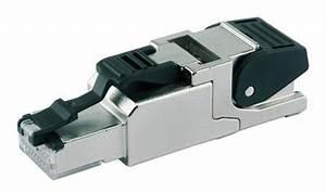 Fiche Rj45 Cat 6 : prise rj45 m le cat6a blind e ftp pour awg22 awg23 ~ Dailycaller-alerts.com Idées de Décoration