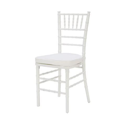 white chiavari chair  chair affair
