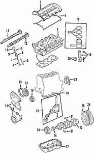 Volkswagen Passat Wagon Engine Timing Cover  1 8 Liter  1