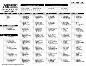 magic the gathering printable checklist - Pokemon Go ...
