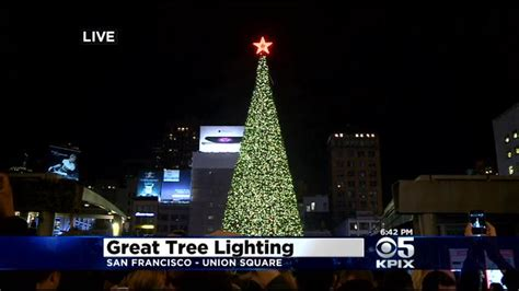 san francisco tree lighting black friday protest over ferguson decision turns ugly