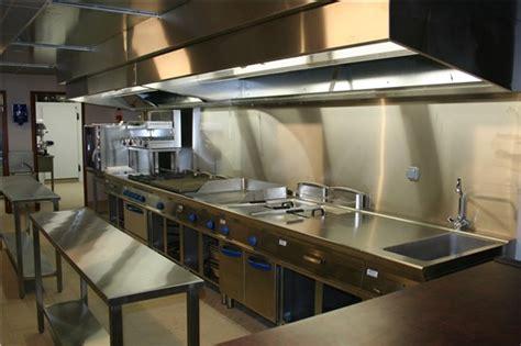 cuisine inox professionnelle comptoir bar vitrine cuisine inox fci pro