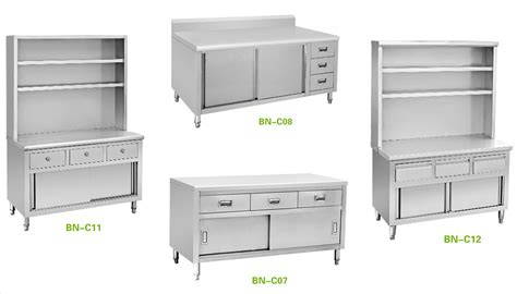 stainless steel commercial kitchen cabinets restaurant stainless steel storage cabinets mf cabinets