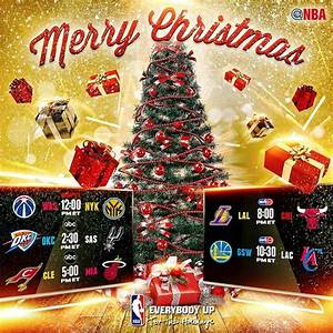 NBA Christmas Day Game Schedule - Jocks And Stiletto Jill