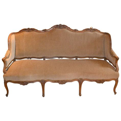 canape regence regence walnut canapé for sale at 1stdibs