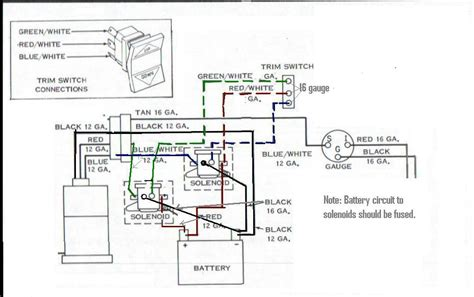 Tilt Trim Wiring Page Iboats Boating Forums