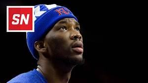 Joel Embiid was rather amused by the 76ers' selection of ...