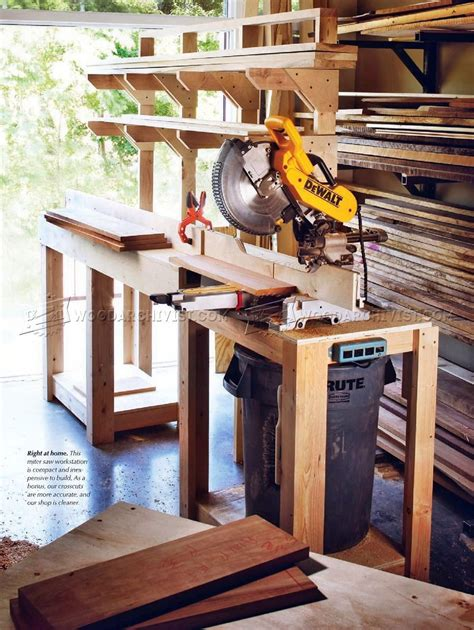 build miter  stand miter  crib woodworking