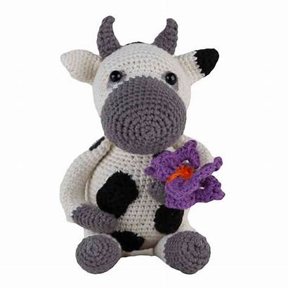 Amigurumi Vache Crochet Dorte Kit Tricot Kits