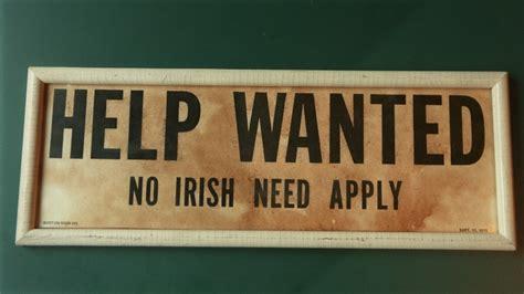 Teen Debunks Professor's Claim That Anti-irish Signs Never